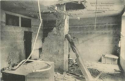 """CPA FRANCE 54 """"Nancy, Bombardement des 09 et 10 septembre 1914 rue St Nicolas""""."""