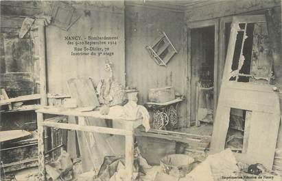 """CPA FRANCE 54 """"Nancy, Bombardement des 09 et 10 septembre 1914 rue St Dizier""""."""