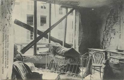 """CPA FRANCE 54 """"Nancy, Bombardement des 09 et 10 septembre 1914, intérieur de la maison Hanrion Terlin rue St Dizier""""."""
