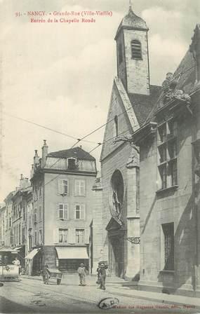 """CPA FRANCE 54 """"Nancy, Entrée de la chapelle ronde""""."""