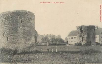 """CPA FRANCE 54 """"Ogéviller, Les deux tours""""."""