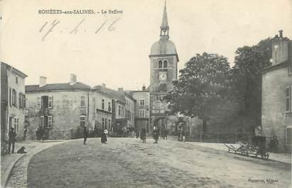 """CPA FRANCE 54 """" Rosières sur Salines, Le beffroi'."""