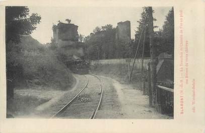 """CPA FRANCE 54 """" Blamont, La tranchée du chemin de fer''."""