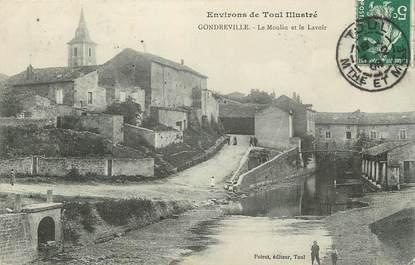 """CPA FRANCE 54 """" Gondreville, Le moulin et le lavoir""""."""