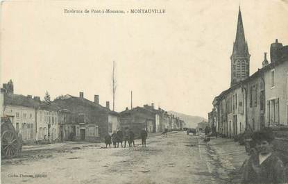 """CPA FRANCE 54 """" Montauville""""."""