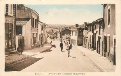 """CPA FRANCE 54 """" Foug, Avenue du Général de Gaulle""""."""
