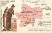 """71 SaÔne Et Loire CPA FRANCE 71 """" Saône et Loire, Publicité sur l'Emulsion Scott""""."""