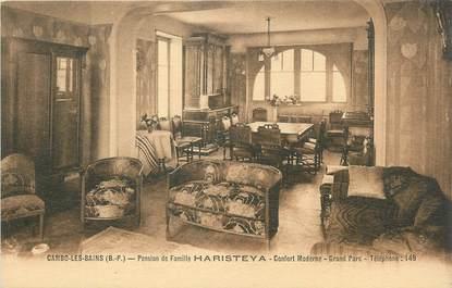 "CPA FRANCE 64 ""Cambo les Bains, Pension de famille Haristeya""."