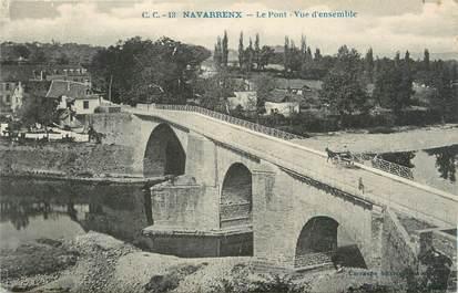 "CPA FRANCE 64 ""Navarrenx, Le pont""."