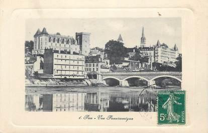 """CPA FRANCE 64 """"Pau, Vue panoramique""""."""