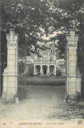 """CPA FRANCE 64 """"Saliès de Béarn, La Villa Molia""""."""