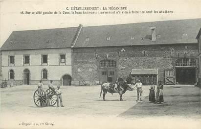 """CPA FRANCE 27 """" Orgeville, La mécanique""""."""