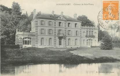 """CPA FRANCE 27 """" Nonancourt, Château de Bois Venay""""."""
