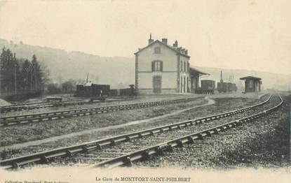 "CPA FRANCE 27 ""Montfort St Philibert""."