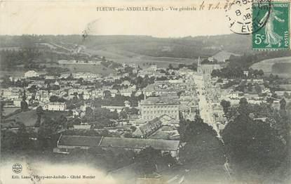 """CPA FRANCE 27 """" Fleury sur Andelle, Vue générale""""."""