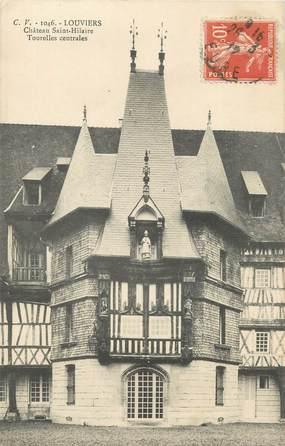 """CPA FRANCE 27 """" Louviers, Château St Hilaire""""."""