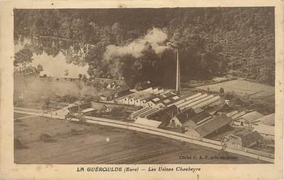 """CPA FRANCE 27 """" La Quéroulde, Les usines Chaubeyre""""."""