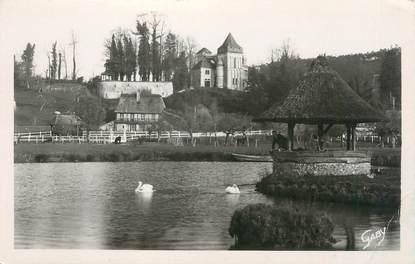 """CPSM FRANCE 27 """" St Mards de Blacarville, La tour romane""""."""