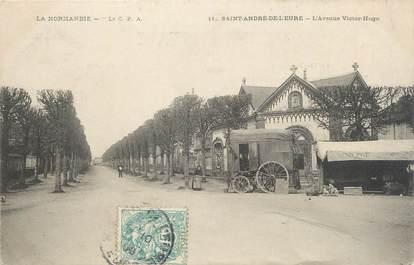 """CPA FRANCE 27 """" St André de l'Eure, Avenue Victor Hugo""""."""