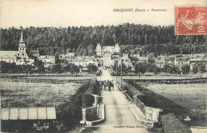 "CPA FRANCE 27 "" Serquigny, Panorama""."