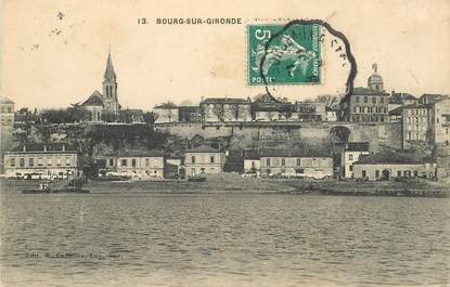 "CPA FRANCE 33 ""Bourg sur Gironde """