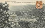 """07 Ardeche CPA FRANCE 07 """"Vals les Bains, Vue générale de la vallée de Vals""""."""
