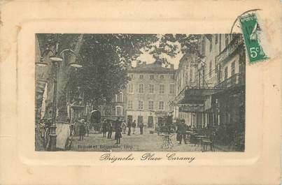 """CPA FRANCE 83 """" Brignoles, La Place Caramy""""."""