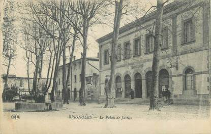 "CPA FRANCE 83 "" Brignoles, Le Palais de Justice""."