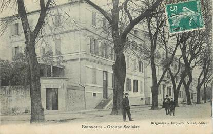 "CPA FRANCE 83 "" Brignoles, Groupe scolaire""."