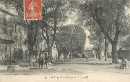 """CPA FRANCE 83 """" Brignoles, Cours de la Liberté""""."""