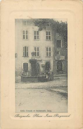 """CPA FRANCE 83 """" Brignoles, Place Jean Raynaud""""."""