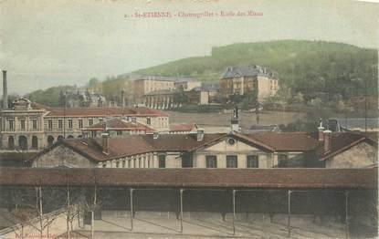 """CPA FRANCE 42 """" St Etienne, Chantegrillet, Ecole des Mines""""."""