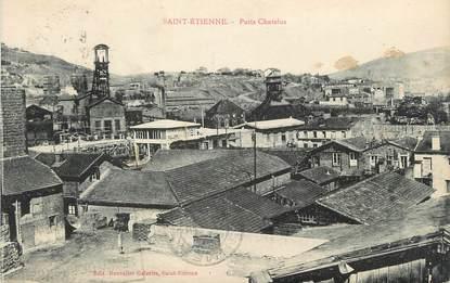 "CPA FRANCE 42 "" St Etienne, Puits Chatelus"". / MINE"