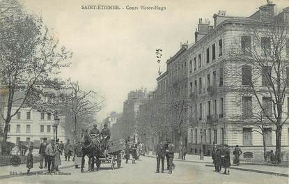 "CPA FRANCE 42 "" St Etienne, Cours Victor Hugo""."