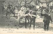 """13 Bouch Du Rhone CPA FRANCE 13 """"Aubagne, Le carnaval, Chrysanthèmes blancs Mlles Agnel et Thaurel""""."""