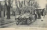 """13 Bouch Du Rhone CPA FRANCE 13 """"Aubagne, Le carnaval, Automobile fleurie""""."""