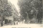 """13 Bouch Du Rhone CPA FRANCE 13 """"Aubagne, Cours Maréchal Foch""""."""