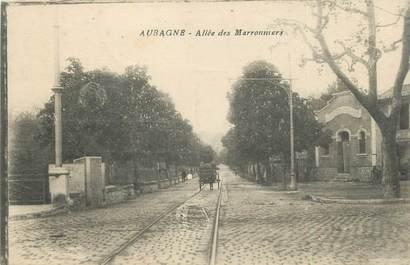 "CPA FRANCE 13 ""Aubagne, allée des Marronniers"""