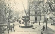 """13 Bouch Du Rhone CPA FRANCE 13 """"Salon, Place de la Grande Fontaine""""."""