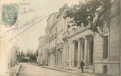 """CPA FRANCE 13 """"Salon, Rue Chanzy""""."""