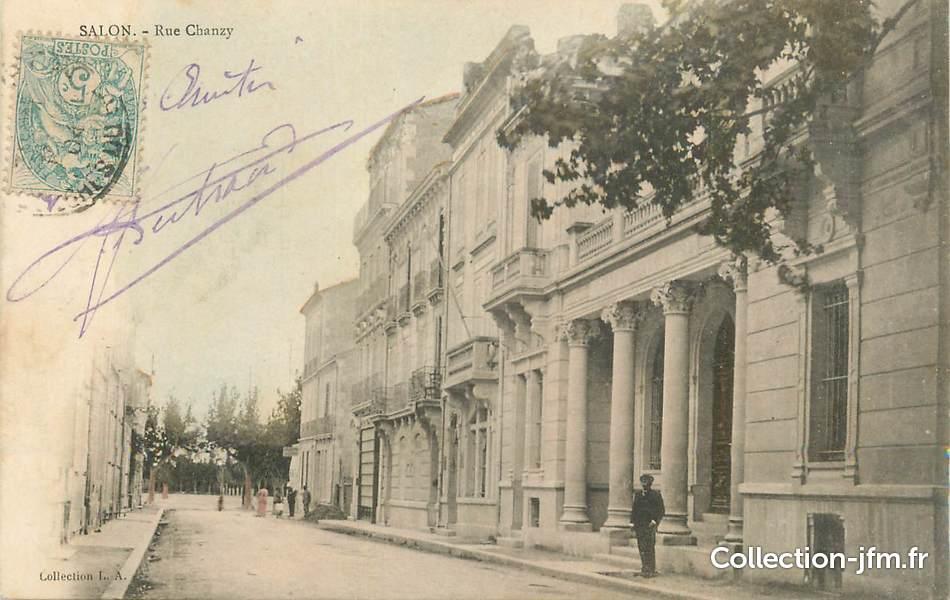 Cpa france 13 salon rue chanzy 13 bouches du rhone salon de provence 13 ref 152604 - Gendarmerie salon de provence ...