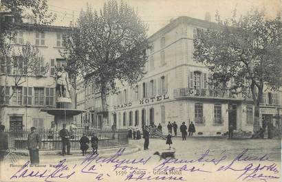 "CPA FRANCE 13 ""Salon, Grand Hôtel""."