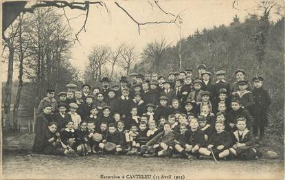 "CPA FRANCE 76 ""Canteleu, Une excursion""."