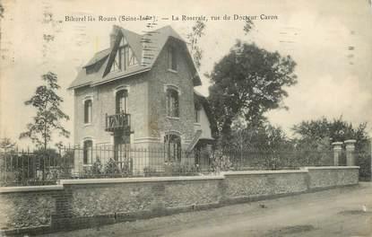 "CPA FRANCE 76 ""Bihorel, La roseraie rue du Docteur Caron""."
