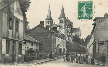 "CPA FRANCE 76 ""Barentin, L'église""."