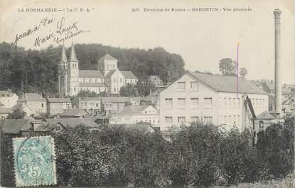 """CPA FRANCE 76 """"Barentin, Vue générale""""."""