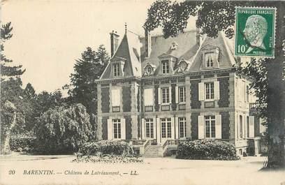"""CPA FRANCE 76 """"Barentin, Château de Latréaumont""""."""