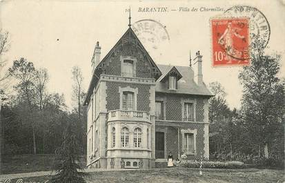 "CPA FRANCE 76 ""Barentin, Villa des Charmilles""."