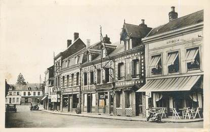 "CPSM FRANCE 76 ""Buchy, Rue des Halles""."