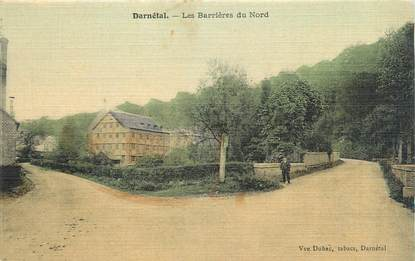 """CPA FRANCE 76 """" Darnétal, Les barrières du nord""""."""